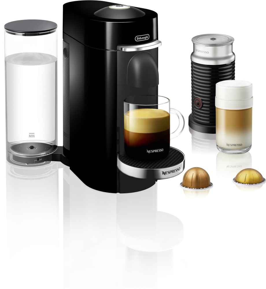 nespresso env155bae vertuo plus coffee and espresso machine with centrifusion aeroccino milk. Black Bedroom Furniture Sets. Home Design Ideas