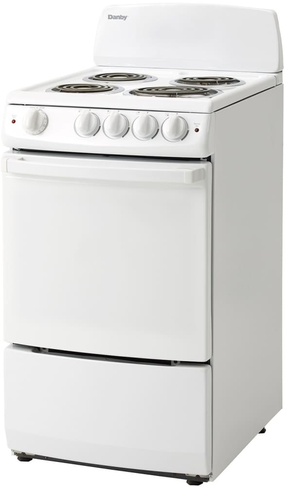 Danby Der200w 20 Inch Freestanding Electric Range With 25 Cu Ft