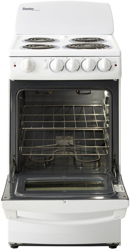 Electric Oven Open ~ Danby der w inch freestanding electric range with
