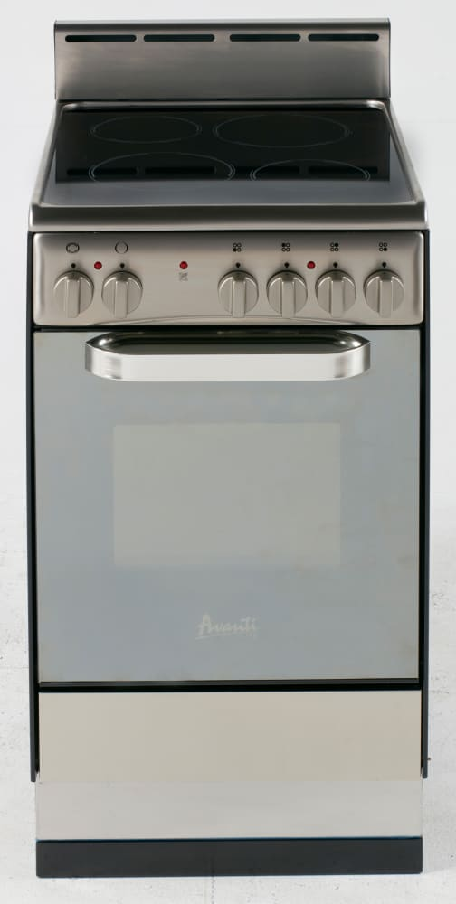 Avanti Der202bs 20 Inch Freestanding Electric Range With 4