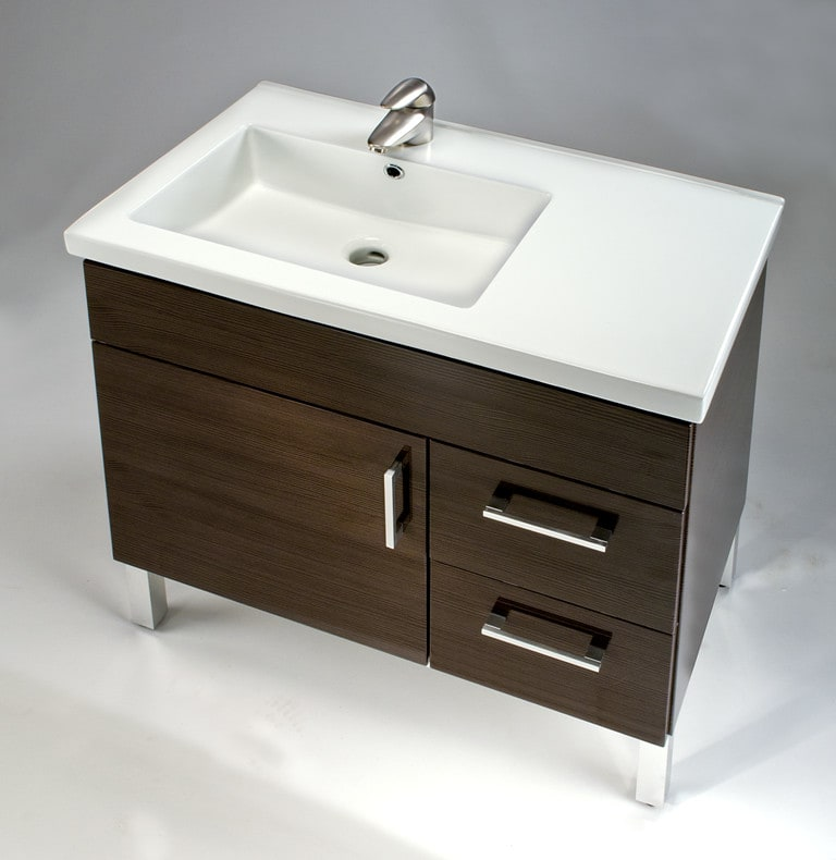 Empire Industries Madison 30 Bathroom Vanity empire industries df3012bnpr 30 inch contemporary vanity with 2