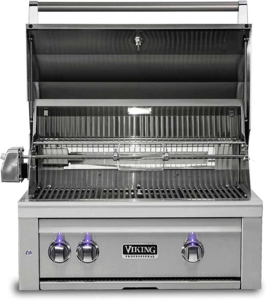 Viking vqgi5300nss 30 inch built in grill with prosear 2 for Viking professional outdoor grill