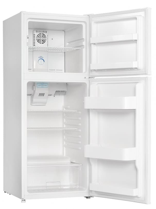 refrigerator 10 cu ft. capacity danby dff100c1wdb - 24\ refrigerator 10 cu ft
