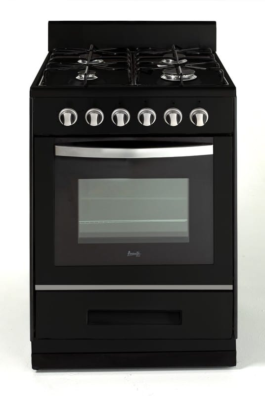 Avanti Dg2452b 24 Inch Freestanding Gas Range With 4