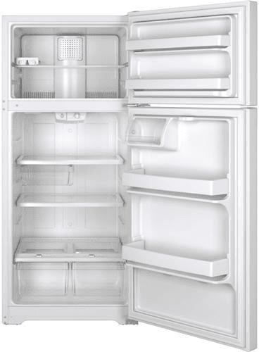 Ge Gts16gthww 28 Inch Top Freezer Refrigerator With 15 5