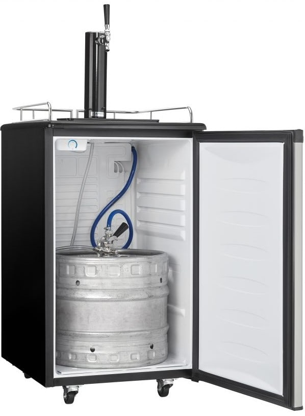 Danby Dkc054a1bsldb 21 Inch Freestanding Kegerator With Drip Tray