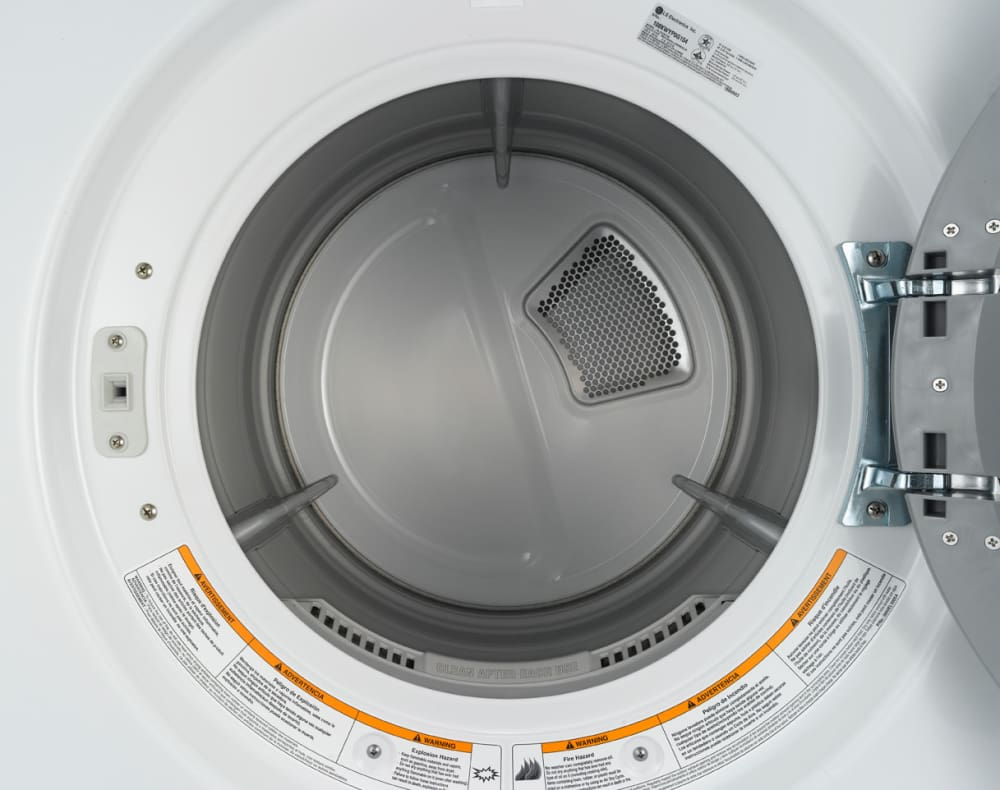 Lg Dryer Drum In The Hole ~ Lg dlg w inch gas dryer with cu ft capacity