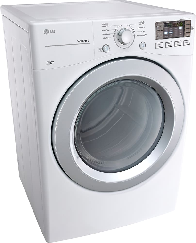... LG DLE3170W - 27 Inch Electric Dryer from LG ...