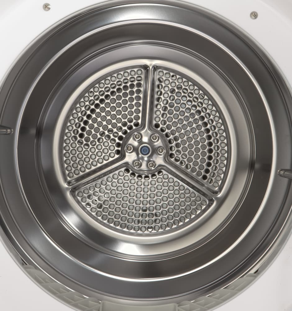 Lg Dryer Drum In The Hole ~ Lg dlec w inch cu ft compact electric
