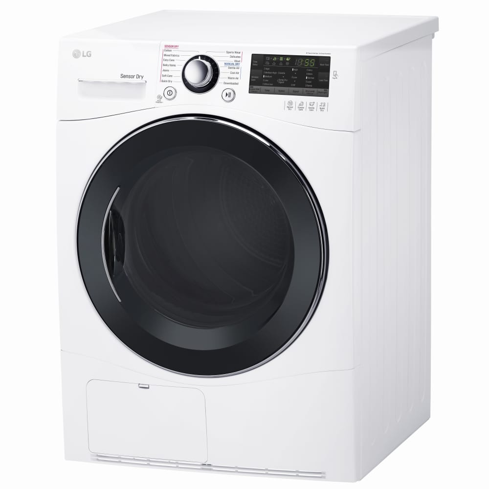 Lg Dlec888w 24 Inch Ventless Condensing Smart Dryer With