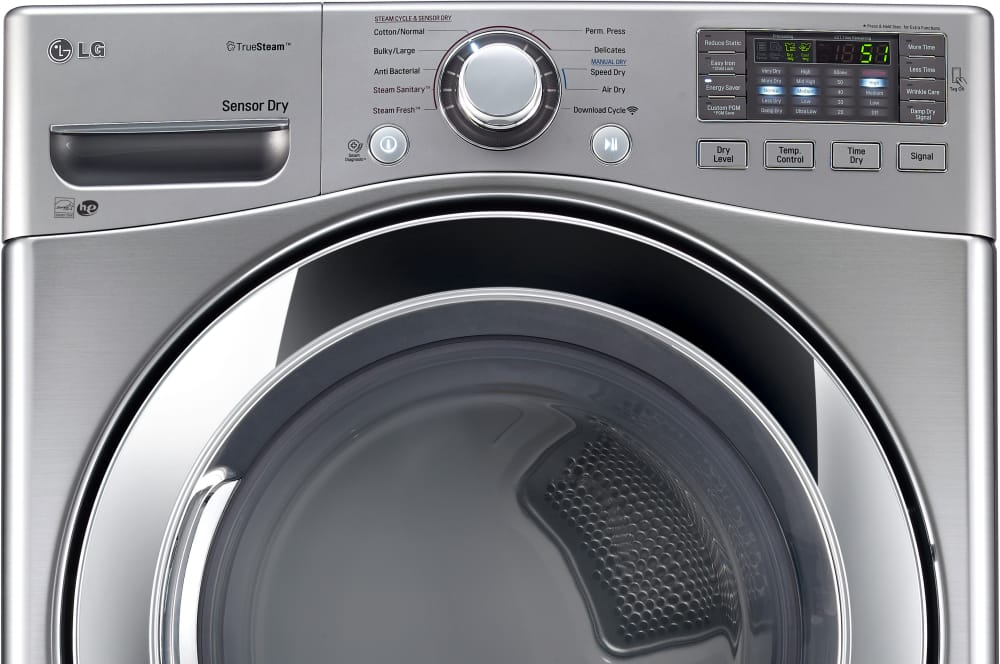 Lg Dlex3370v 27 Inch Electric Dryer With Truesteam