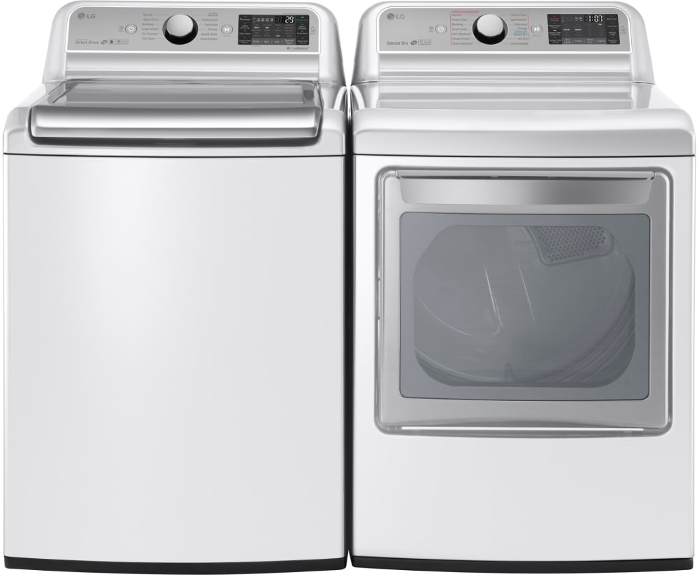 Lg Lgwadrgw14 Side By Side Washer Amp Dryer Set With Top