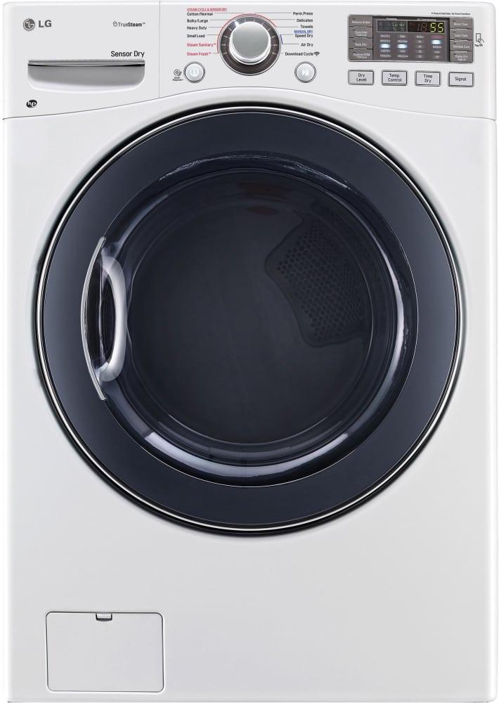Lg Dlgx3571 27 Inch Gas Dryer With Truesteam Technology