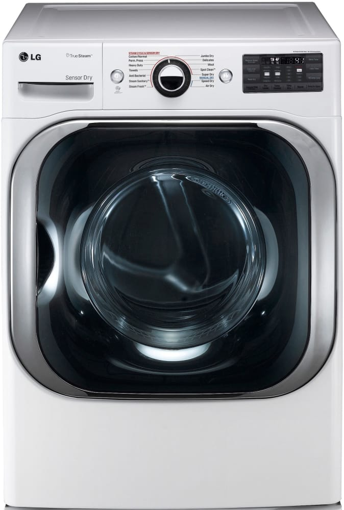 lg truesteam dryer how to use