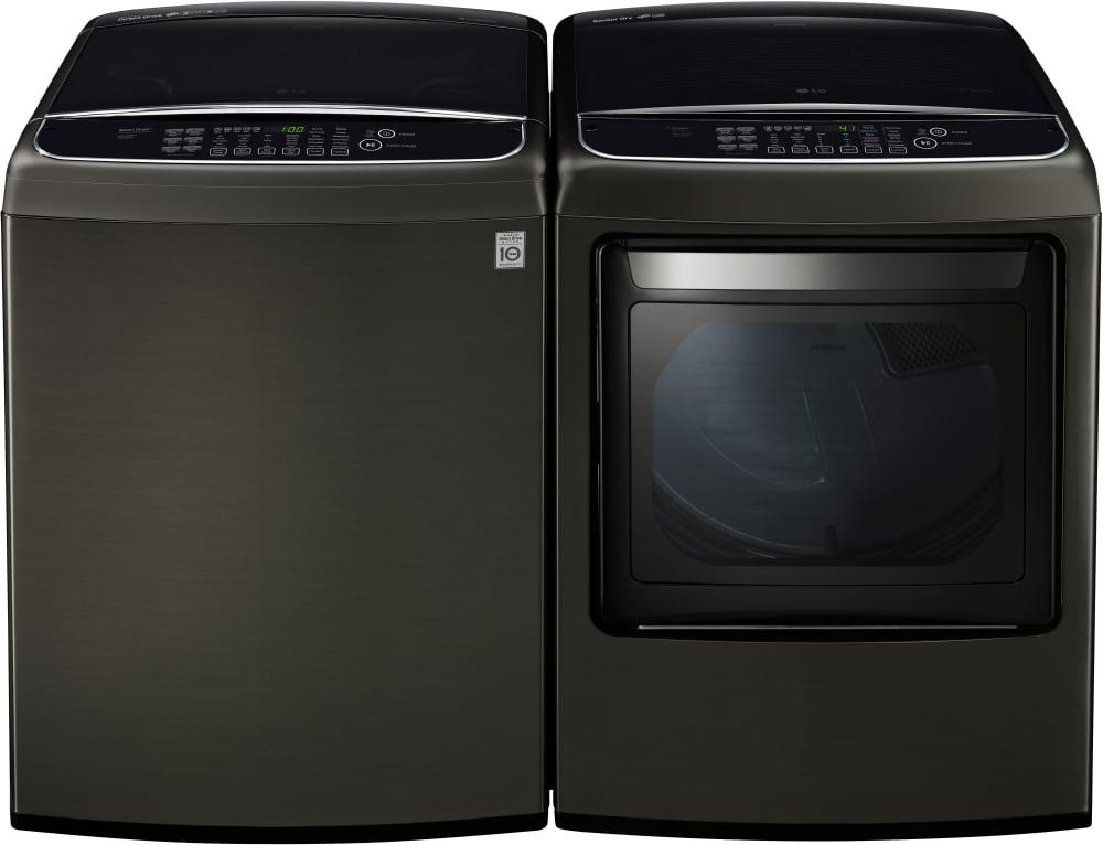 Lg Dlgy1902ke 27 Inch Gas Smart Dryer With Easyload Door