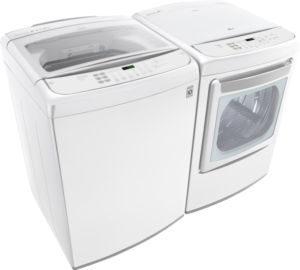 Lg Wt1901cw 27 Inch Top Load Washer With Turbowash 174 Slam