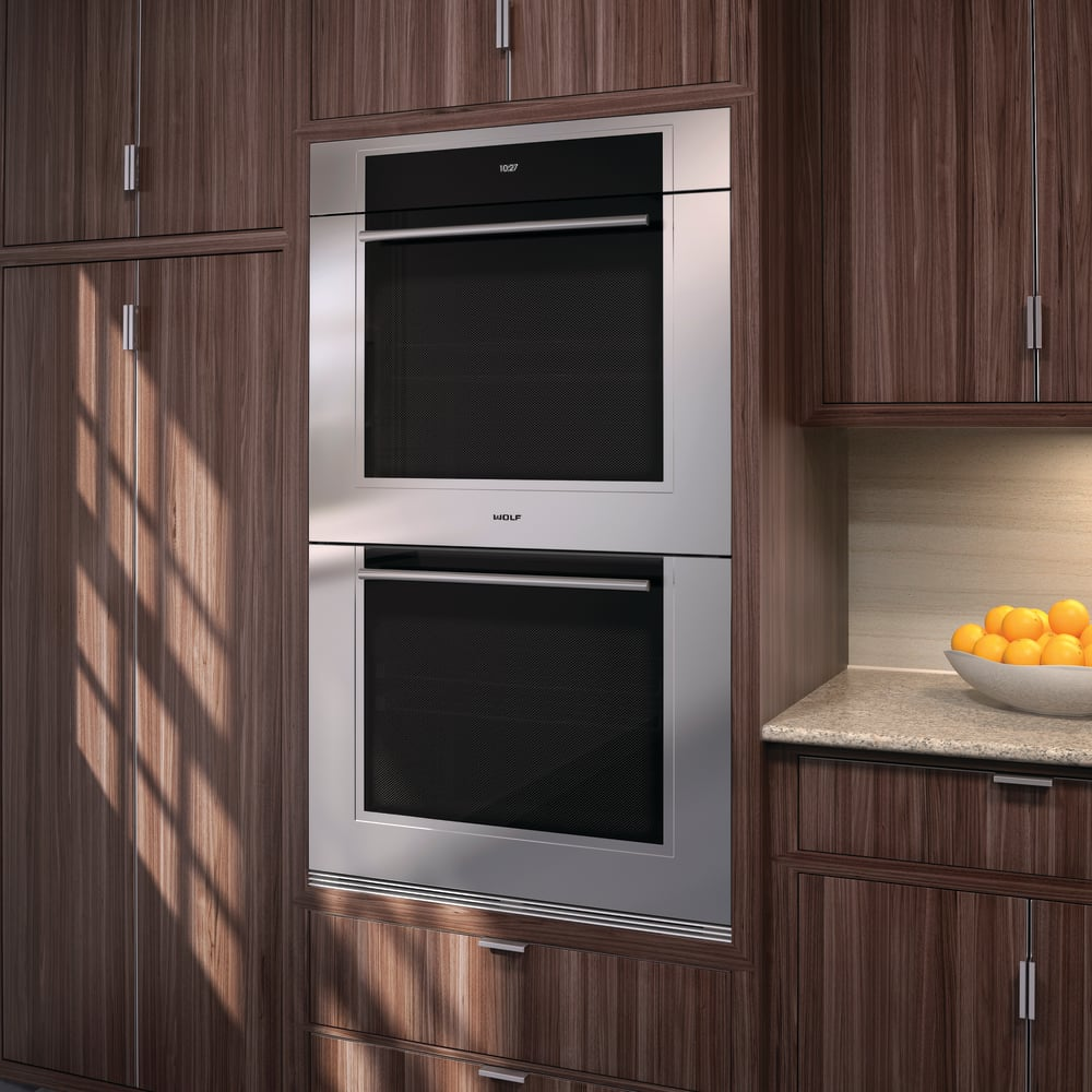 wolf double oven. Wolf M Series DO30TMSTH - Transitional Lifestyle Double Oven