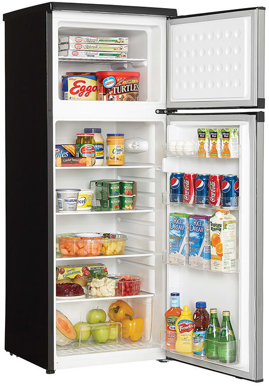 Danby DPF073C1BSLDD 7.3 cu. ft. Top Freezer Refrigerator with 3 ...