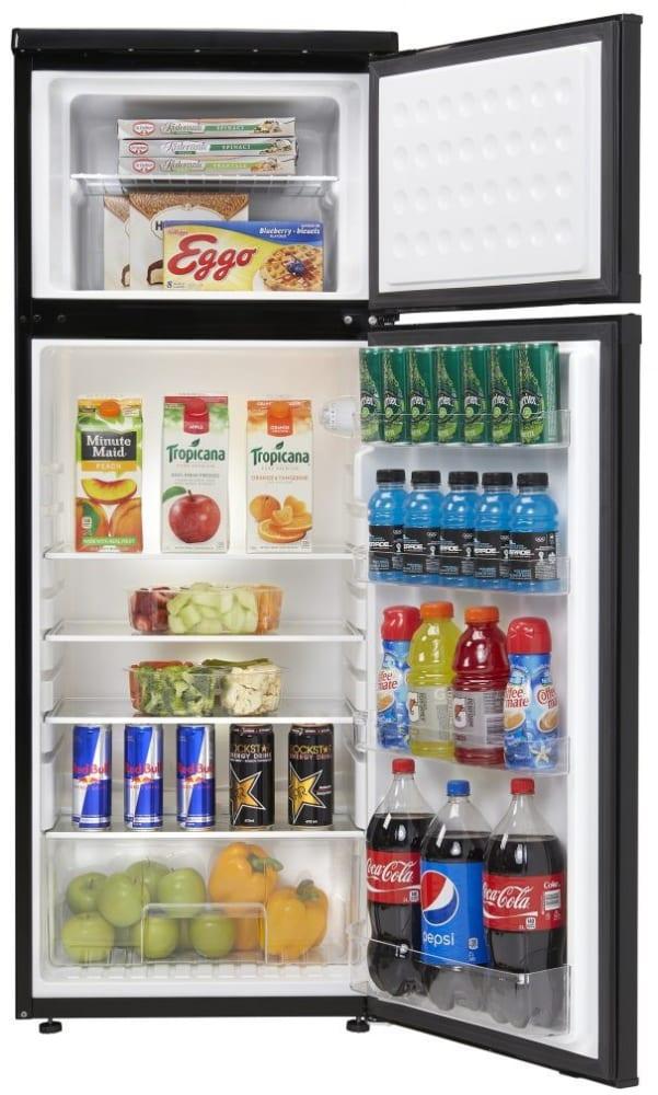 Danby DPF073C1BDB 7.3 cu. ft. Top Freezer Refrigerator with 3 ...