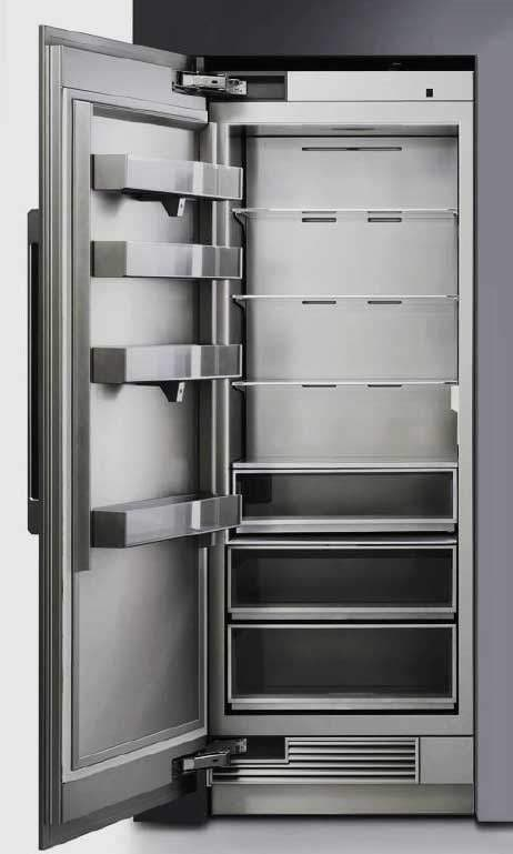 Dacor drr30980lap 30 inch panel ready refrigerator column for Dacor 42 refrigerator