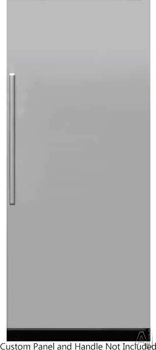 Dacor Modernist Drr36980rap 36 Inch Panel Ready Refrigerator Column Right Hinge Silver Stainless