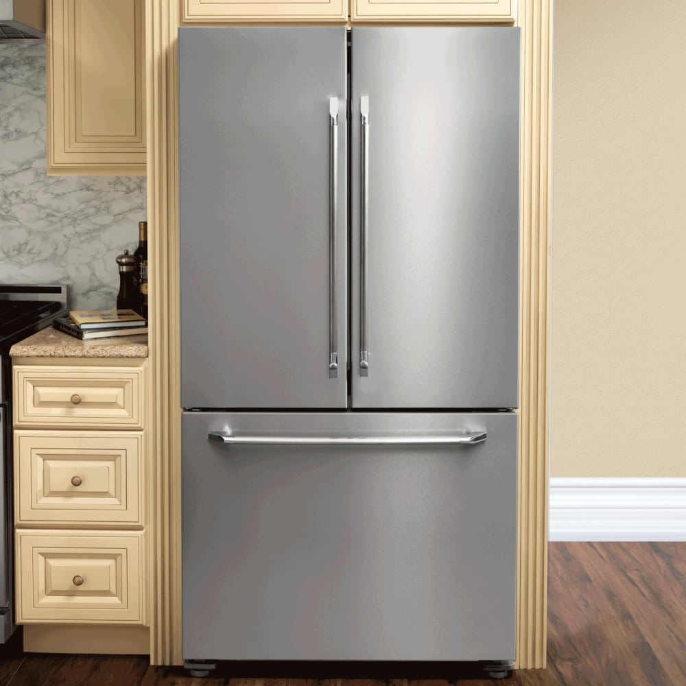 Dacor DTF36FCS 36 Inch French Door Refrigerator with BlueV ...