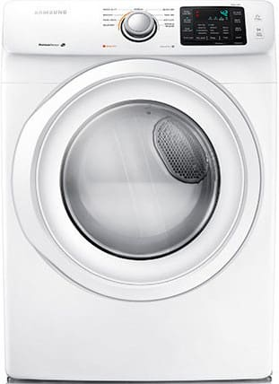 Samsung Dv42h5000gw 27 Inch 7 5 Cu Ft Gas Dryer With 9 Dry Cycles 4 Temperature