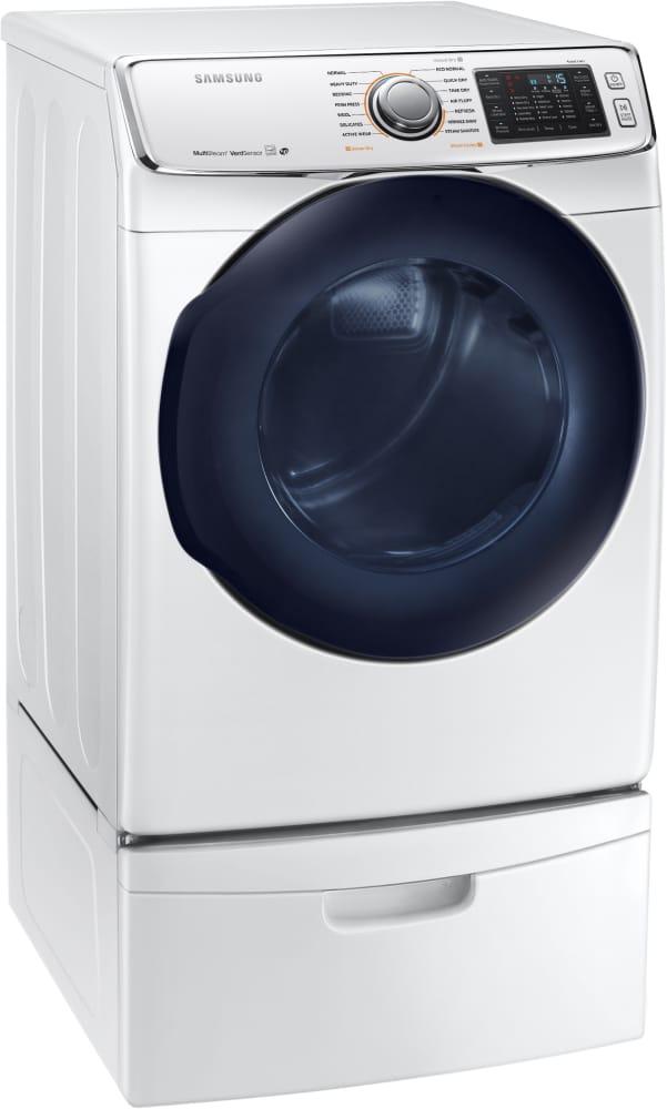 Samsung Dv50k7500ew 27 Inch Smart Electric Dryer With Wi