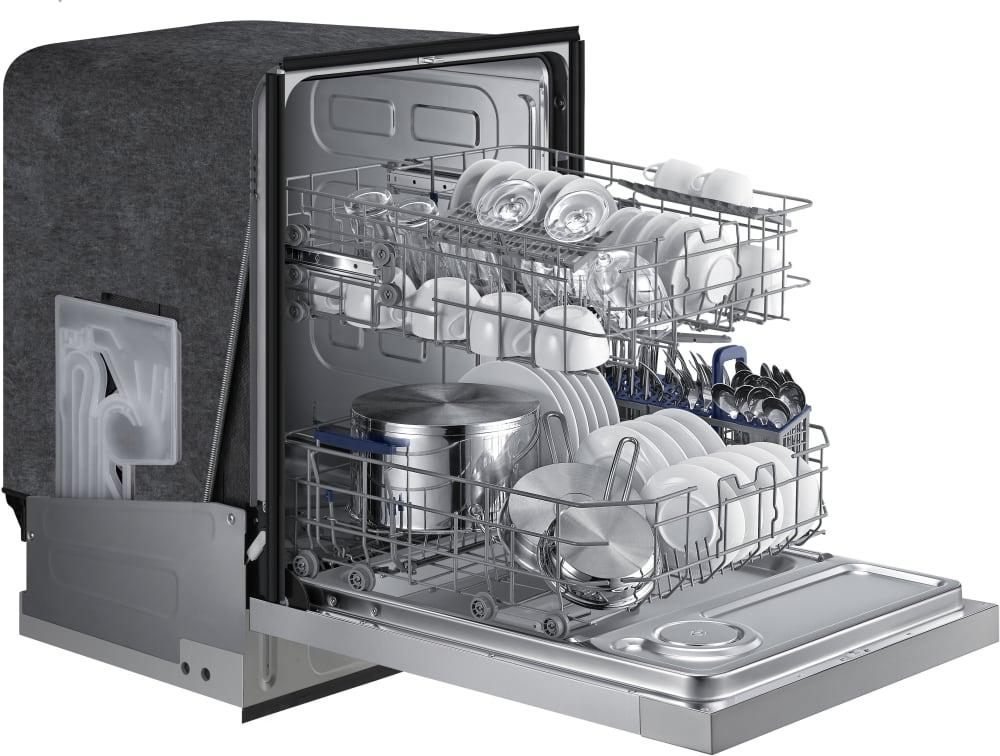 Samsung Dw80j3020us Full Console Dishwasher With Digital