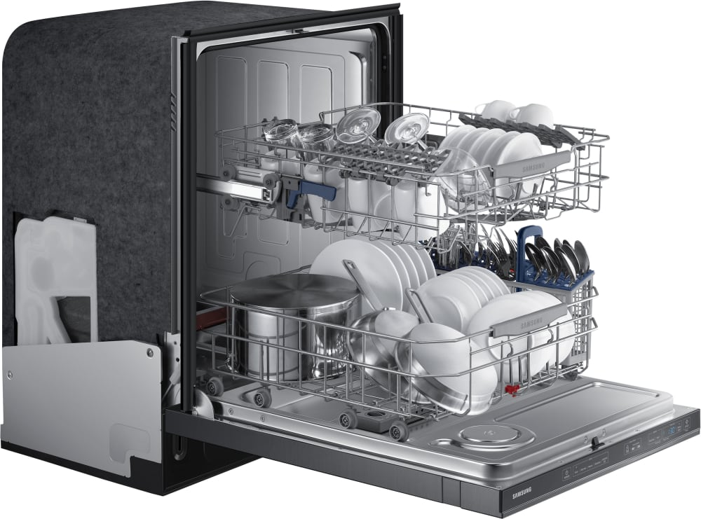 Samsung DW80J7550UG Fully Integrated Dishwasher with 15 Place ...