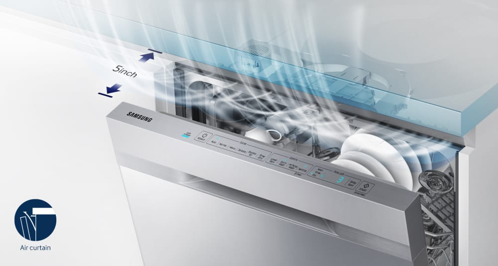 Samsung Dw80k5050us Fully Integrated Dishwasher With Stormwash