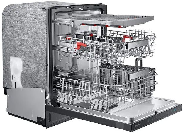 Samsung Dw80r9950ug 24 Inch Smart Built In Dishwasher With