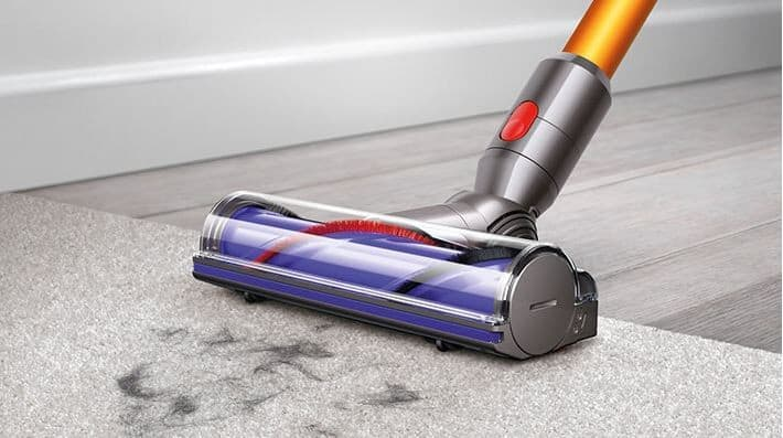 ... Dyson V8 Series 21473001 - Dyson V8 Absolute Yellow Direct Drive In-Use ...