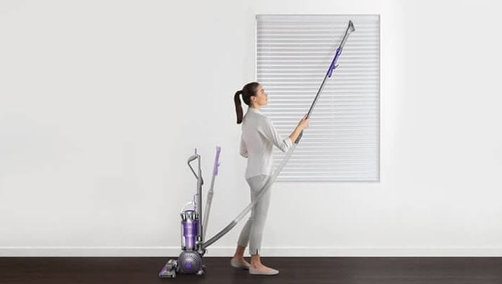 dyson ball series multifloor upright vacuum cleaner lifestyle view - Dyson Vacuum Cleaner