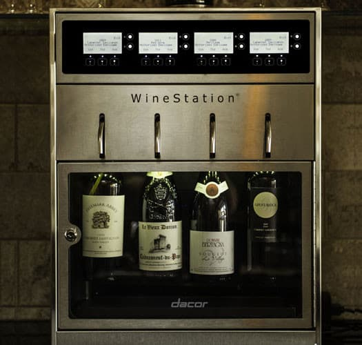 Dacor Dyws4 20 Inch Wine Storage With 4 Bottle Capacity