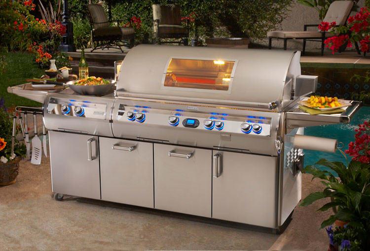 Fire Magic E1060s4l1p51w 111 Inch Freestanding Gas Grill