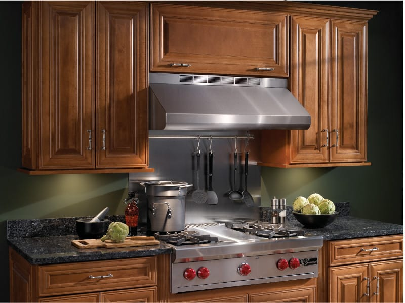 Broan E6442SS Pro-Style Under-Cabinet Canopy Range Hood with ...
