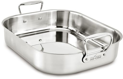 All Clad E752c264 13x16 Inch Large Roasting Pan With