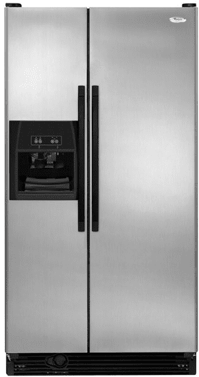 Whirlpool Ed5fvgxvs 25 3 Cu Ft Side By Side Refrigerator
