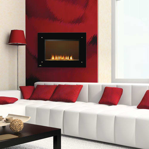 Napoleon ef39hd 39 inch indoor electric fireplace with - Going to bed with embers in fireplace ...