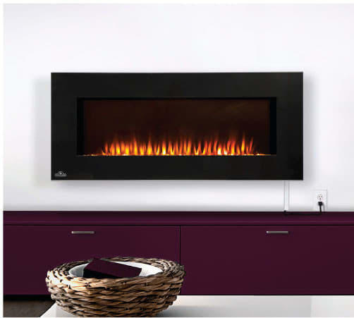 Napoleon EFL42H 42 Inch Indoor Electric Fireplace with