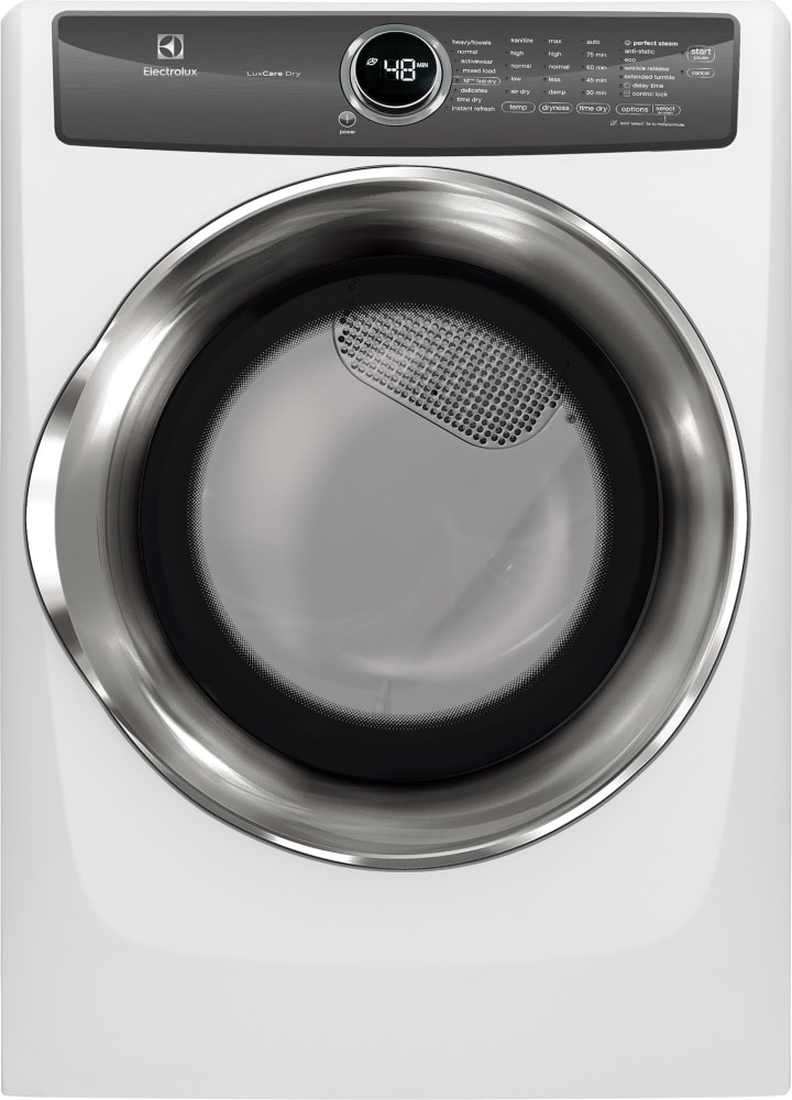 Electrolux Efme527uiw 27 Inch Electric Dryer With Luxcare