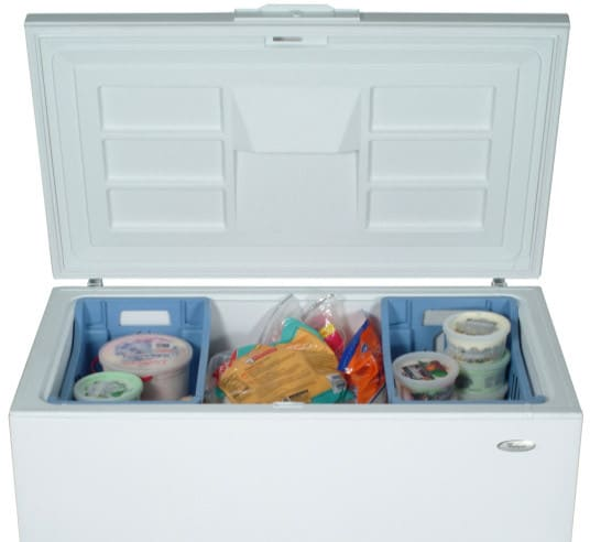 Whirlpool Eh101fxrq 10 0 Cu Ft Chest Freezer With Manual