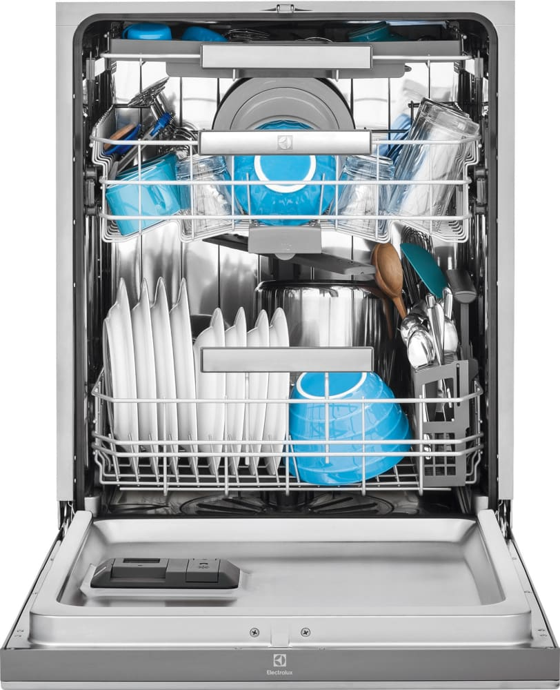 Electrolux EI24CD35RS Full Console Dishwasher with 5 Wash Cycles ...