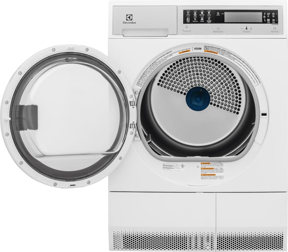 Electrolux Eied200qsw 24 Inch Ventless Electric Dryer With Wrinkle Schematic Wiring Diagram For 120v Front Load Compact From 43 Cu Ft