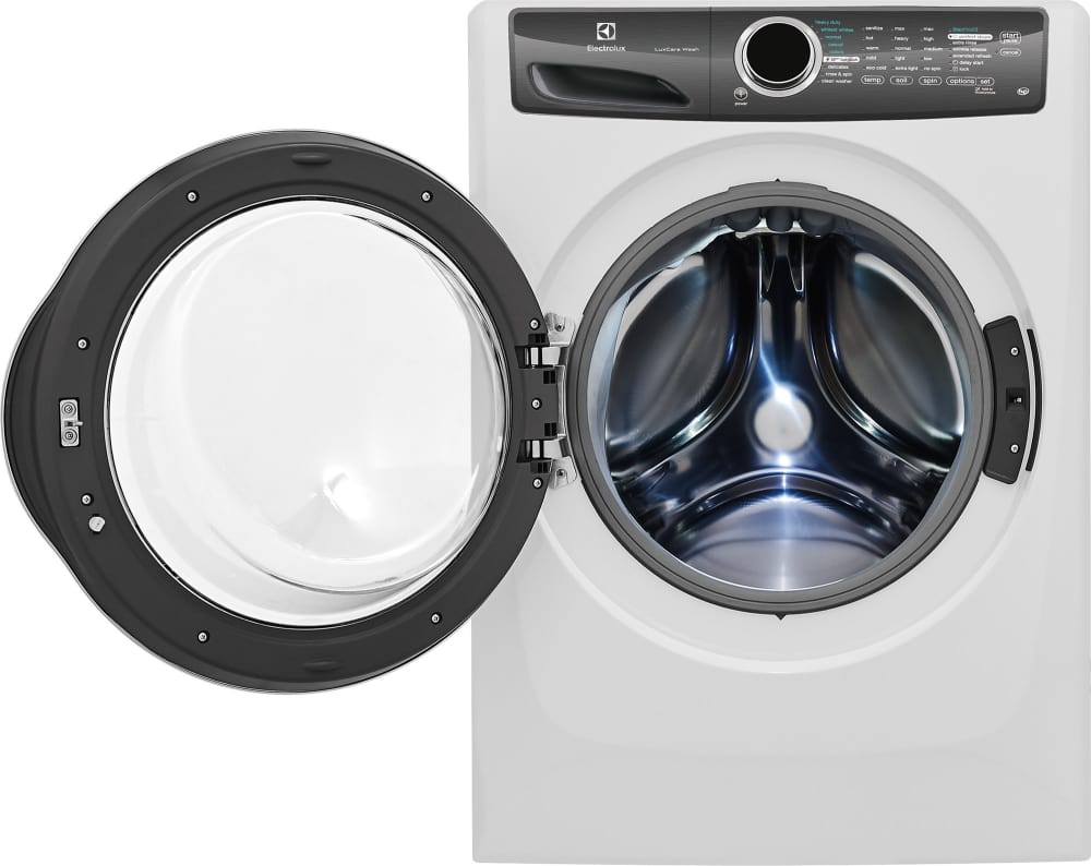 electrolux efls517siw 27 inch 43 cu ft front load washer with electrolux eflw417siw hov2 603 4 db1fe electrolux iq touch 45 cu