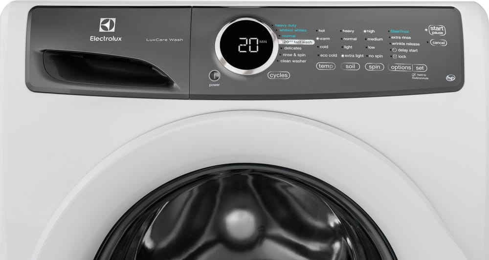 Electrolux Luxcare Efls617siw Island White Feature View