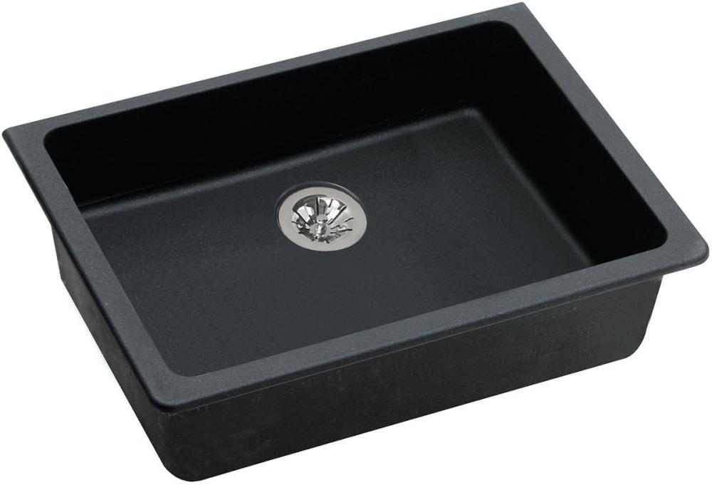 Elkay Elguad2519pdbk0 25 Inch Undermount Ada Kitchen Sink