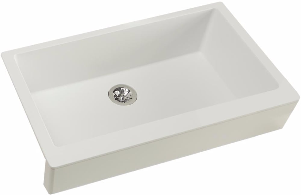 Elkay ELXUFP3620RT0 36 Inch Quartz Luxe Farmhouse Kitchen Sink with ...