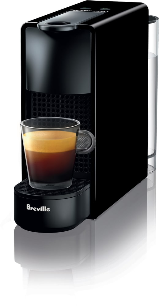 Nespresso BEC220BLK1AUC1 Essenza Mini Espresso Machine with One ...